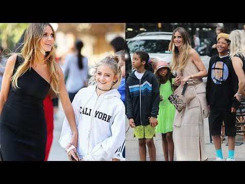 Heidi Klum's Daughters & Sons ★ 2018