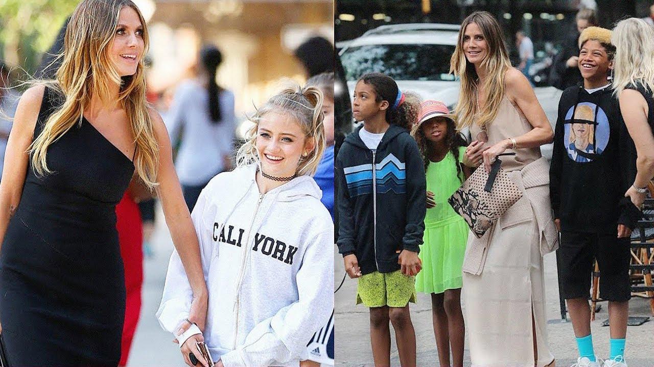 Heidi Klums Daughters Sons 2019