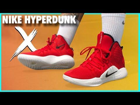 NIKE HYPERDUNK X | REVIEW - YouTube