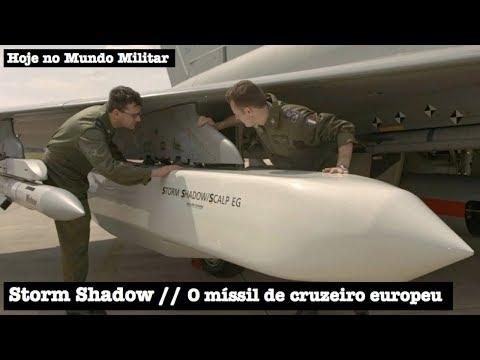 Storm Shadow, o míssil de cruzeiro europeu