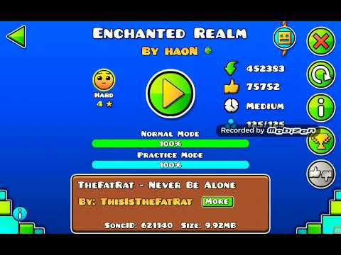 Geometry dash - Enchanted Realm by haoN and Acxle 100%