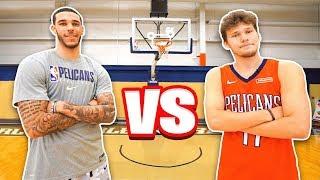 Download Epic NBA Basketball QnA TRICKSHOTS vs Lonzo Ball! Mp3 and Videos