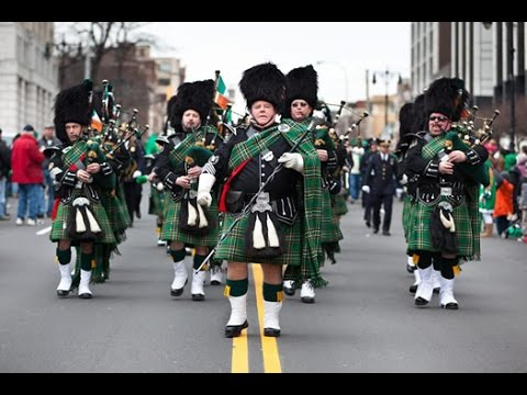 LIVE: NYC St Patricks Day Parade/President Donald Trump Speaks about Jobs with Angela Merkel
