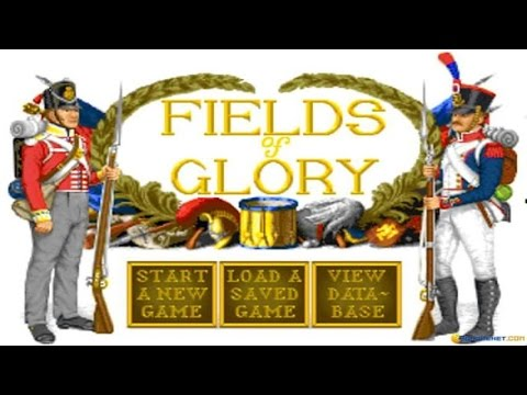 Fields of Glory gameplay PC Game, 1993