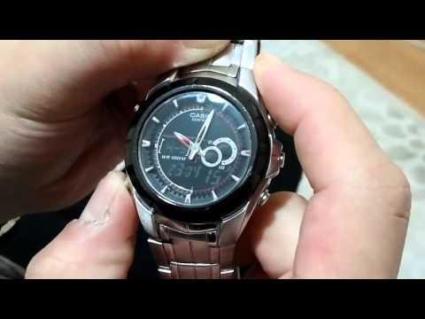 a13f875e504c Casio Edifice Model Saat Ayar Yapma - 2014 kopkop - YouTube