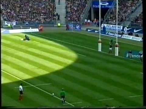 France V Scotland Rugby International 1999 Part 2