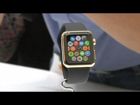 apple stellt einzelheiten seiner neuen armbanduhr vor youtube. Black Bedroom Furniture Sets. Home Design Ideas