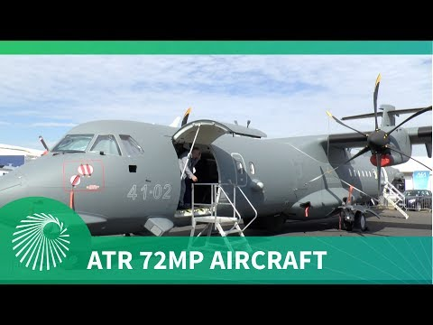 Leonardo's ATR 72MP Multirole Maritime patrol and C4ISR aircraft