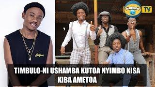 Timbulo-Ni ushamba WCB kutoa Wimbo Kisa Alikiba Katoa