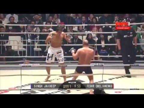 Fedor Emelianenko vs Jaideep Singh - RIZIN FF (12-31-2015)