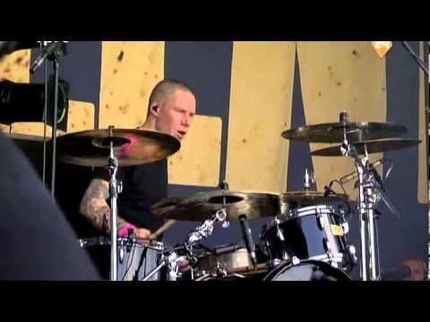Billy Talent Fallen Leaves Live Pinkpop 2009