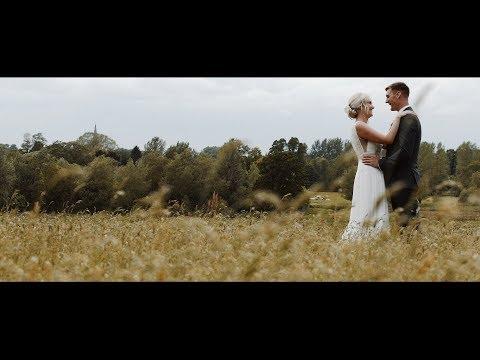 Natalie & Pete wedding video @ Dovecote Barn