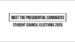 Meet the Presidential Candidates: Student Council Elections 2020