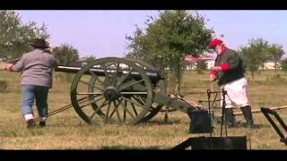 Texian Market Days 2012 - Scenes at the 1860s Prairie Home
