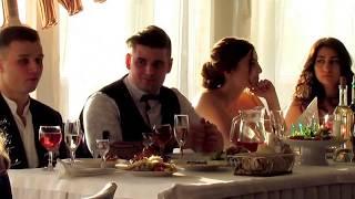 Первый тост и история любви на свадьбе 2018 Запорожье ведущая-тамада Мария