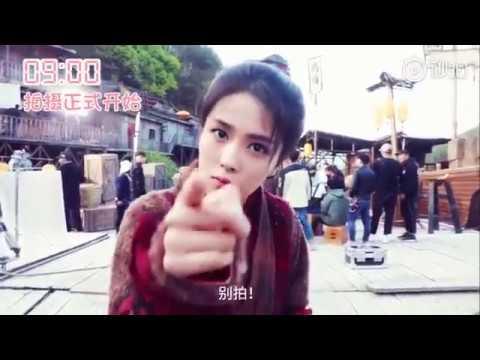 Jiu Liu Overlord BTS Bai Lu Lai Yi 《九流霸主》 电视剧 幕后 白鹿 赖艺