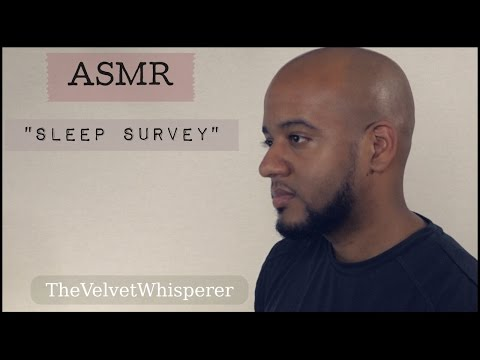 ASMR: Sleep Survey Role Play - Typing, Whispering, Soft Speaking