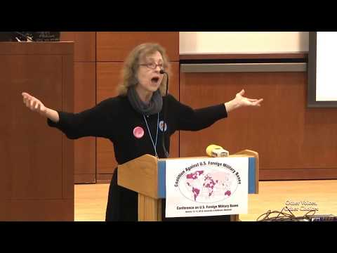 Elsa Rassbach @ Conference on US Foreign Military Bases / International Night / January 12-14