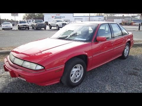 1994 Pontiac Grand Prix Start Up, Exhaust, and In Depth ...