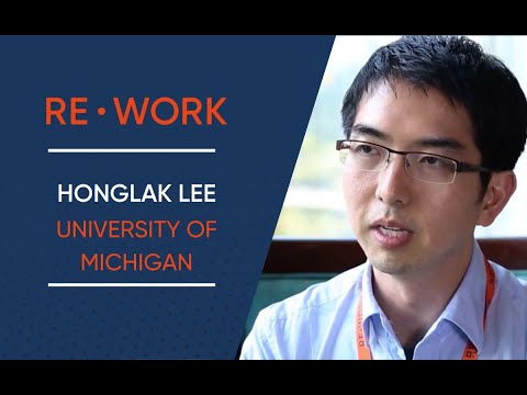 RE•WORK Interview with Honglak Lee, University of Michigan - Deep Learning Summit, Boston 2016