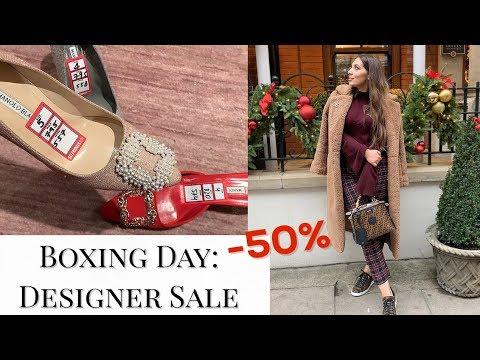 Boxing Day Shopping In Harrods: Designer Sale & Zara Sale Haul
