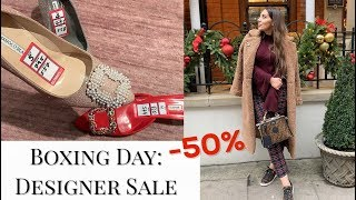 Boxing Day Shopping In Harrods: Designer Sale & Zara Sale Haul