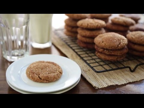How To Make Gingersnap Cookies | Cookie Recipes | Allrecipes.com
