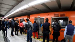 New Yorker Tries The Mexico City Cdmx Metro For The First Time Pov : No A C, Hot And Uncomfortable