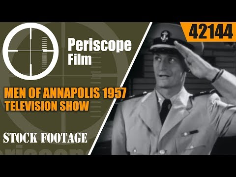 "MEN OF ANNAPOLIS 1957 TELEVISION SHOW  ""THE LOOK ALIKE"" EPISODE 42144"