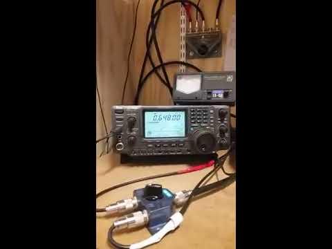 Radio Caroline Test transmission 648 kHz received in Sweden !
