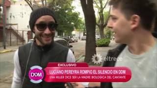 Luciano Pereyra rompió el silencio sobre su supuesta madre ...