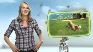 Official: Kinectimals Kinect Animals cute animal HD Kinect video game trailer - X360
