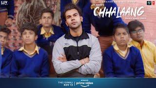 Chhalaang - Dus Wale Ko Chaalis Tak | Rajkummar R, Nushrratt B | Streaming Now on Amazon Prime Video