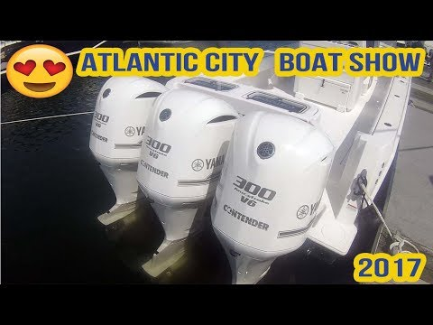 ATLANTIC CITY IN WATER BOAT SHOW 2017