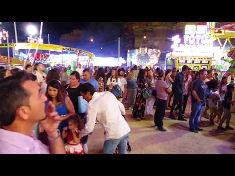 Los niños protagonistas en el lunes de Feria en Algeciras