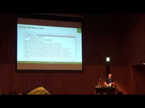 Microservice Networking Leveraging VRF on the Host - David Ahern