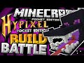 BUILD BATTLE for MCPE 0.13.0!!! - Hypixel PE Minigames Server - Minecraft PE (Pocket Edition)