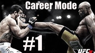 UFC Undisputed 3 Career Mode Part 1 Starting Out!
