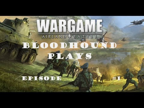 Wargame: Airland Battle Coop Campaign Episode 1 - Not Starting Off Very Well