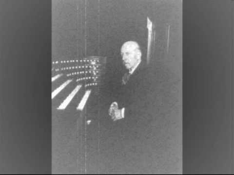 Ch. M. Widor plays his Toccata from V Symphony Op. 42 No. 1