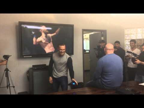 Conor McGregor fights Dana White... virtually