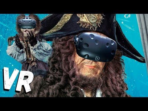 КАПИТАН ЛЫСАЯ БОРОДА - ПИРАТЫ В VR (игры виртуальная реальность)