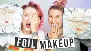 ♦ Foil Makeup #Challenge ♦ Agnieszka Grzelak i RLM ❤️
