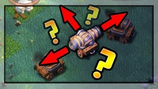 ENDLESS Glitched Cannon Cart? Clash of Clans GLITCHES / Funny Moments!