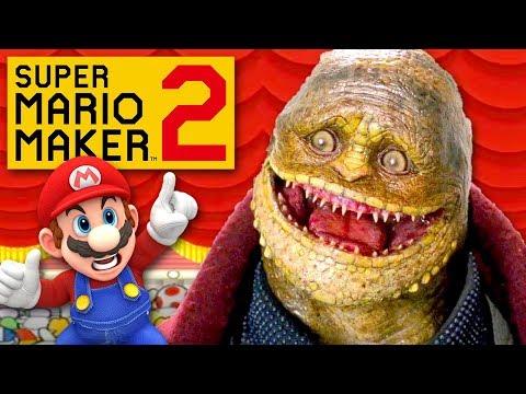 Mario Goes to the Cinema - Super Mario Maker 2 - Gameplay Walkthrough Part 27