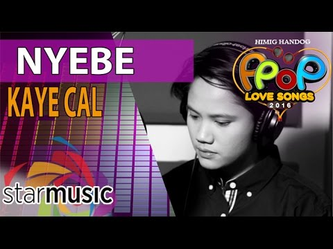 Kaye Cal - Nyebe (Official Recording Session with Lyrics)
