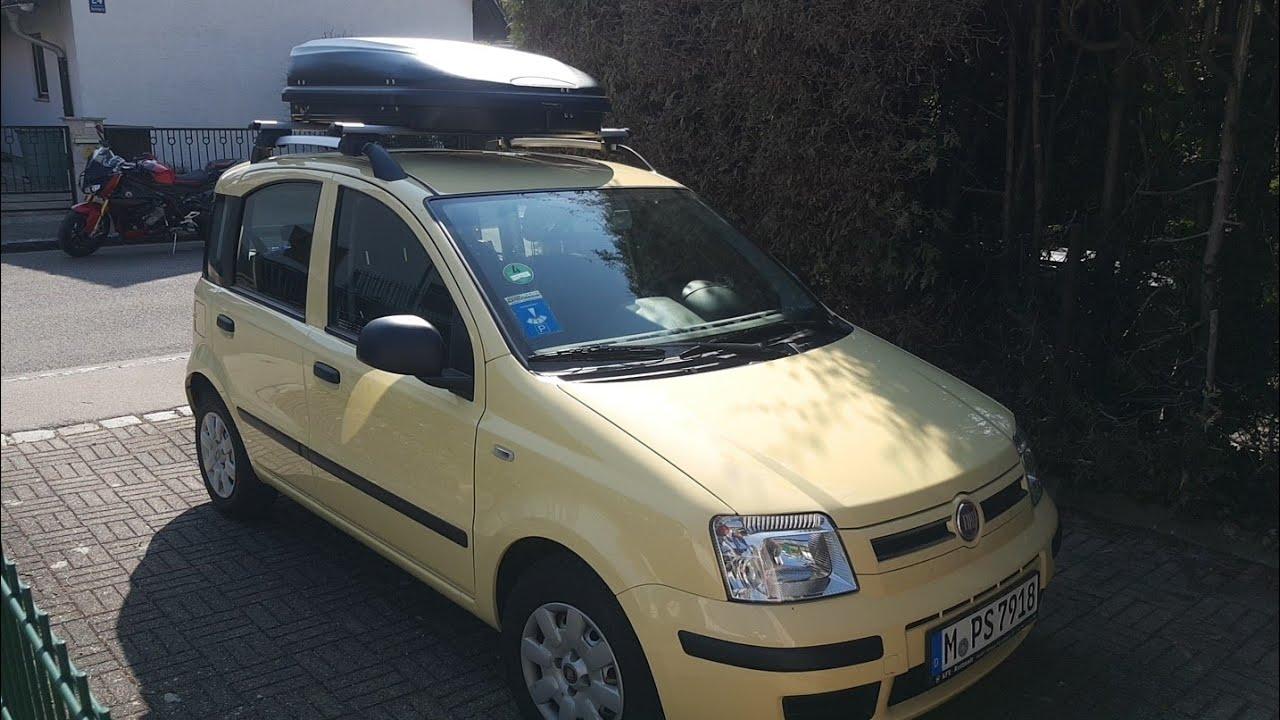 Fiat Panda Roof Box Dachbox Tetőbox Youtube