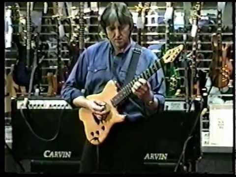 Allan Holdsworth - Carvin booth NAMM 97