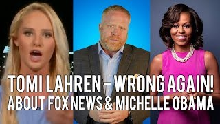 Tomi Lahren Stupidly Says Fox News Treated Michelle Obama with Respect.