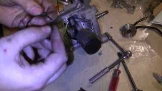 How to Drop & Rebuild a Honda Hobbit PA50 II Moped Engine Step by Step
